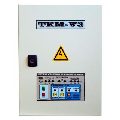 Автоматика ТКМ-V3 с ИУ3с + ПБ3-10 (EG5500) в Чайковскийе