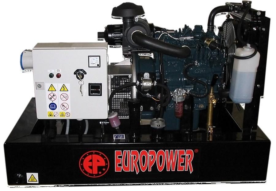 Генератор дизельный Europower EP 30 DE в Чайковскийе